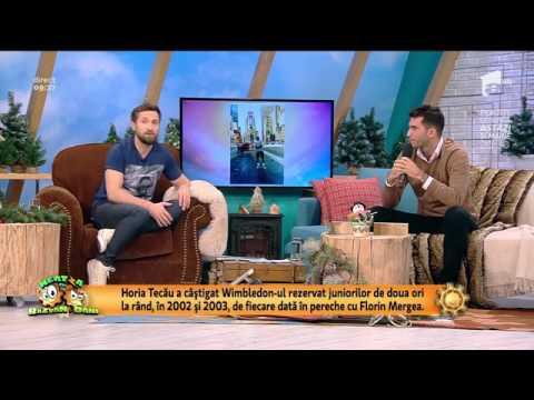 """Tenismenul Horia Tecău lansează cartea """"Viața în ritm de tenis"""""""
