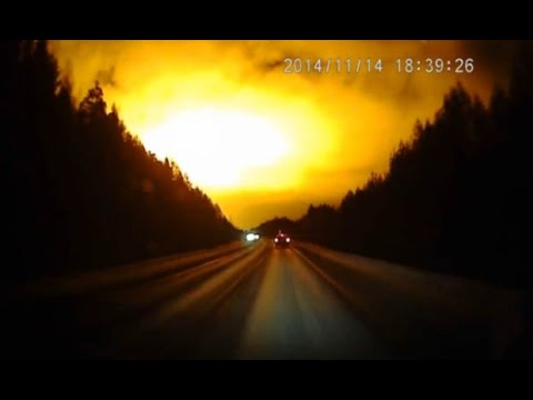 Mystery Orange Glow Lights Up Russian Night Sky