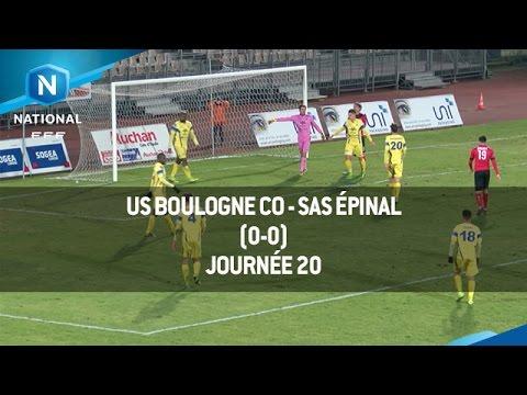 J20 : US Boulogne CO – SAS Épinal (0-0), le résumé
