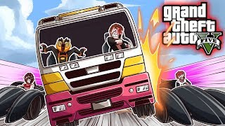 CAN VANOSS AND THE TERMINATOR SAVE THE ICE CREAM?!? (GTA 5 Funny Moments)