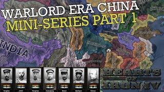 Hearts of Iron 4: Warlord Era China - Miniseries #1