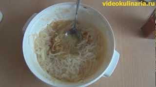 Рецепт - салат из фунчозы от videokulinaria.ru