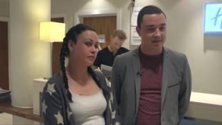 Holiday Inn Express surprise visit from Ronan Keat...