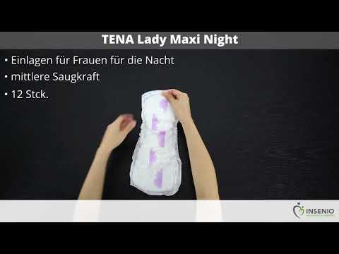 TENA Lady Maxi Night - ausgepackt!