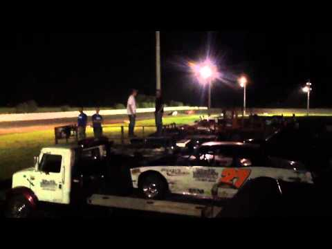 Fiesta city speedway mechanics race heat #1- 08/30/2013