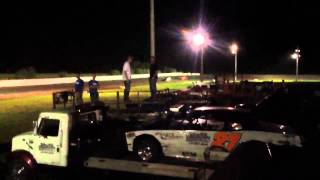 Fiesta city speedway mechanics race heat #1- 08/30/2013