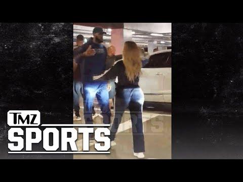 LeBron James & Khloe Kardashian Hug It Out After 'Horror' Night | TMZ Sports