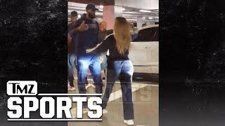 LeBron James & Khloe Kardashian Hug It Out After