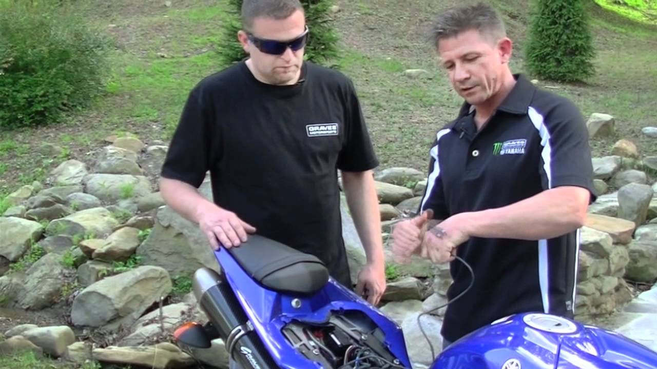 Dynojet Secondary Fuel Module Install Video On Yamaha R1 By Chuck Electrical Wiring Diagram Yzf Motorcycle Graves