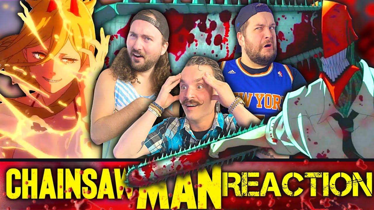 WHAT DID WE JUST WATCH!?!? | ChainsawMan Official Trailer REACTION