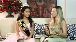 Programa Click com Erika Gueiros Entrevista Miss Universo infantil 2013