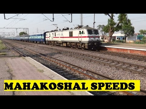 Delhi Jabalpur Mahakoshal Express Whines Speeds