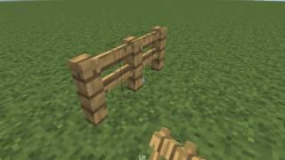 Minecraft: Nasıl Yapılır? - Çit ve Çit Kapısı (1.8+)