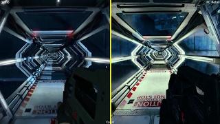 Aliens Colonial Marines E3 2012 Demo vs Retail PC Graphics Comparison