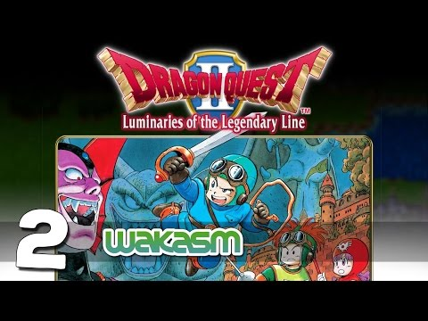 Dragon Quest II: Luminaries of the Legendary Line - Part 2 -  That princess is a dog! Woof!