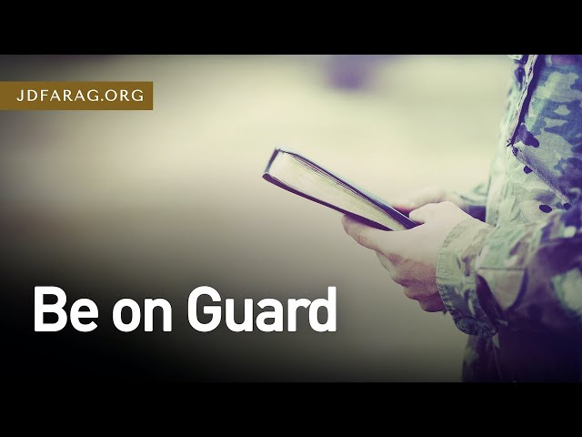Be on Guard - 2 Timothy 1:13-18 – November 22nd, 2020