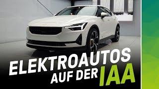 Elektrisierender Messerundgang: IAA Elektroauto Highlights 2019!