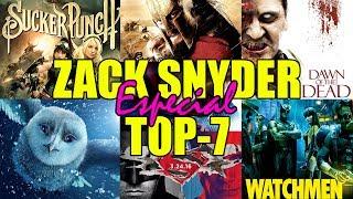 ESPECIAL ZACK SNYDER - TOP-7 - John Doe - Batman V. Superman - 300 - Watchmen - Dawn Of Dead