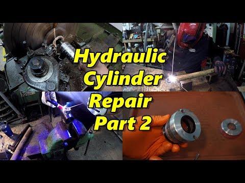 Hydraulic Cylinder Repair Part 2