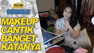 MAKEUP CANTIK BANGET KATANYA #GREEN&BLUE