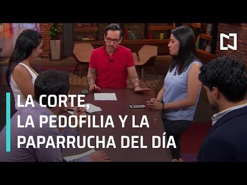 La Corte, la pedofilia y la paparrucha del día - Punto y Contrapunto