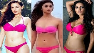 Hottest Bollywood Actresses - Who Dared To Wear A Bikini
