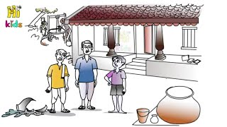 తాత కొడుకు మనవడు కథ | Thatha Koduku Manavadu | Moral story in telugu | neethi  | Bommalu kathallu_07