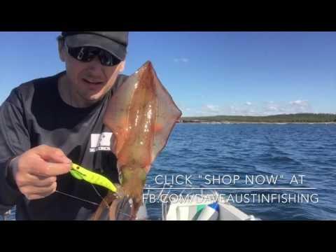 Egihead Squid Fishing With Leon