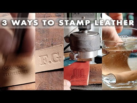 Stamping leather 3