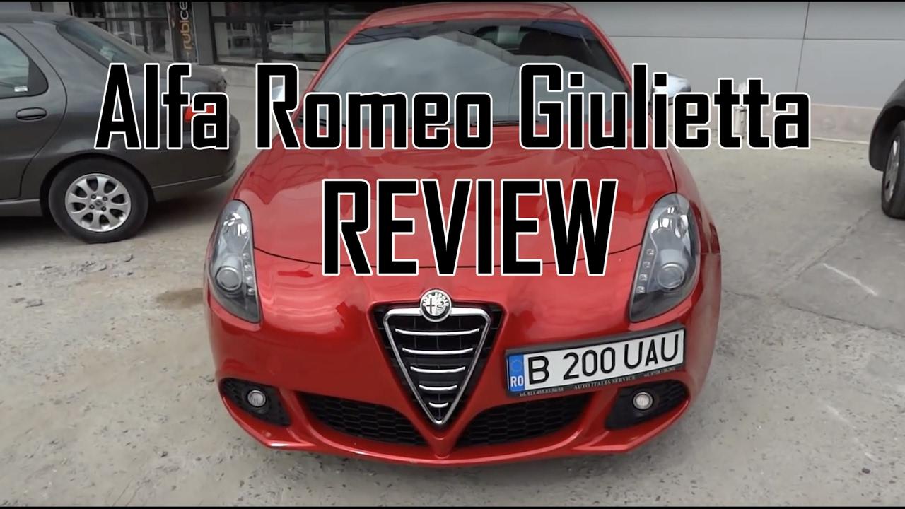 REVIEW - Alfa Romeo Giulietta QV (www.buhnici.ro)