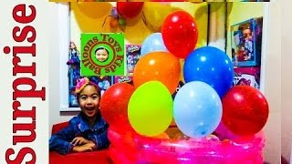 Thomas The Tank Engine Videos Super Giant Balloon Cake Magneti…