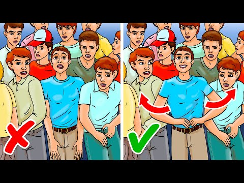 How to Survive In a Crowd Crush and Avoid Being Smashed