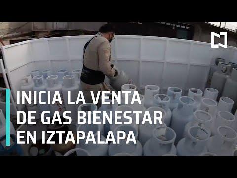 Inicia venta de Gas Bienestar en Iztapalapa - En Punto