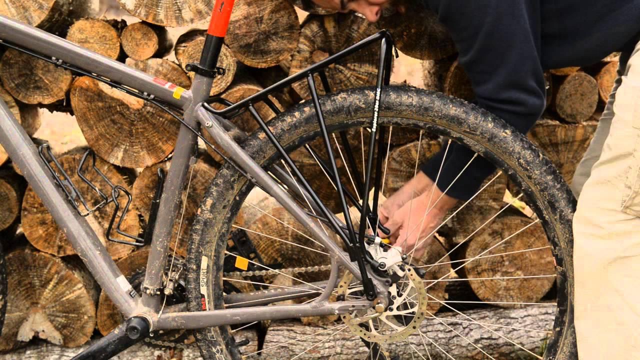 Topeak Explorer 29er Disc Bike Rack Youtube