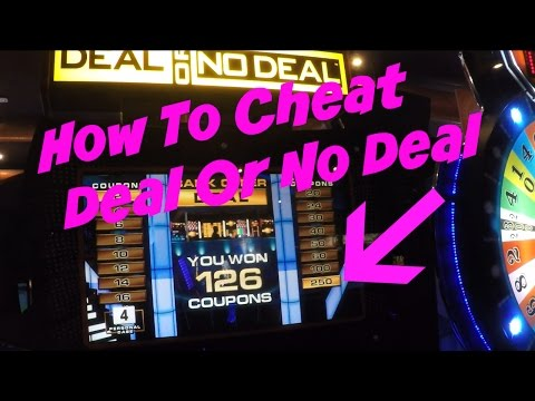 How To Win Deal Or No Deal Arcade Game | Arcade Hacks |