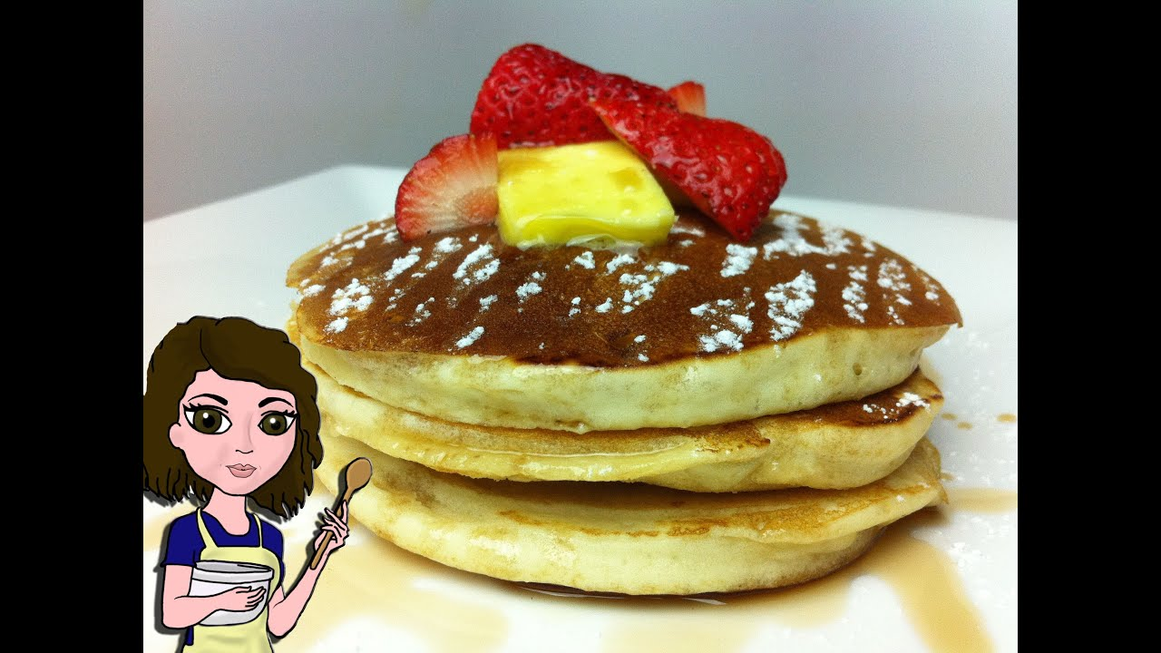 How to make perfect fluffy pancakes youtube how to make perfect fluffy pancakes ccuart Images