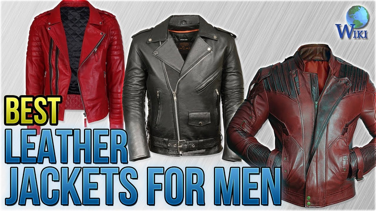 10 Best Leather Jackets for Men 2018 - YouTube 7d213744d