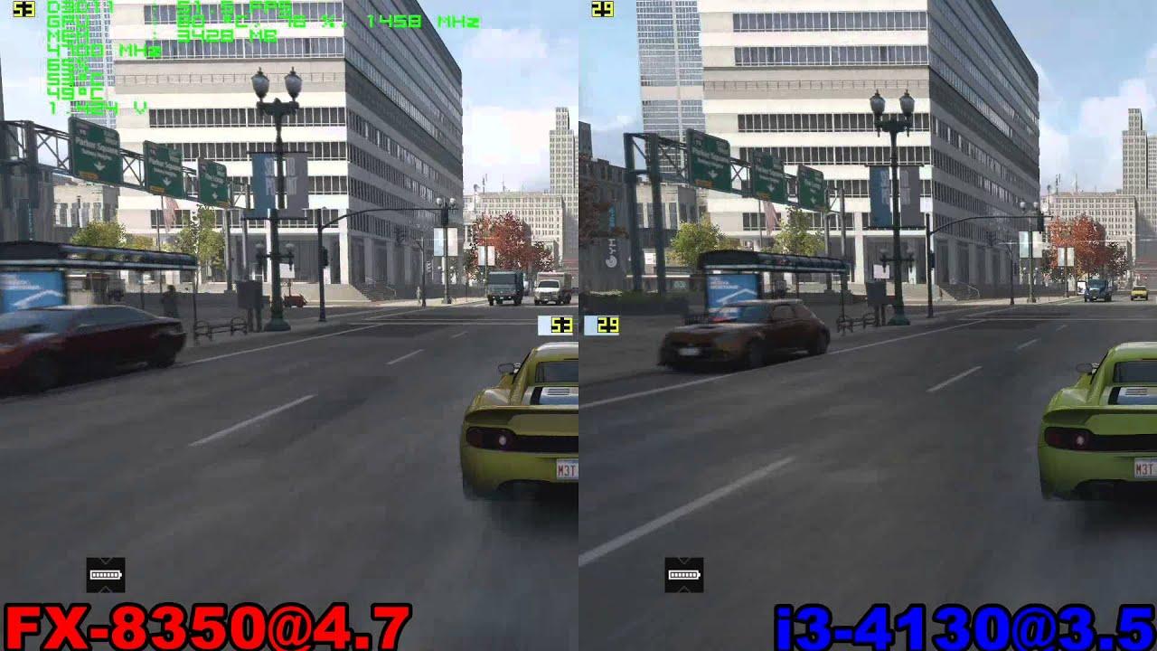 Тест: AMD FX 8350 против Intel Core i3 4130 в 20 играх (GTX 980).