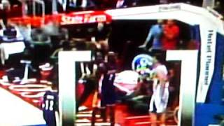 clippers vs lakers fight odom and griffin 1 16 2011