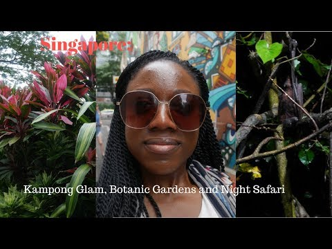 Singapore Times: Kampong Glam, Botanic Gardens and Night Safari