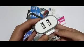 ReView ~ Travel Charger Vanvo 2 USB   083832425262 Jual Travel Adaptor Charger Vavo 2USB