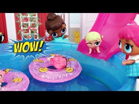 Bebes Lol Juegos De Piscina Munecas Lol Surprise De Vacaciones En