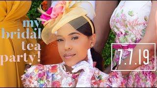 LYNDZIE CHERRY | MY BRIDAL TEA PARTY!!!