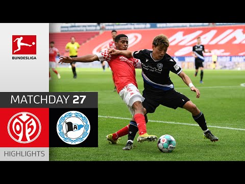 Mainz Arminia Bielefeld Goals And Highlights