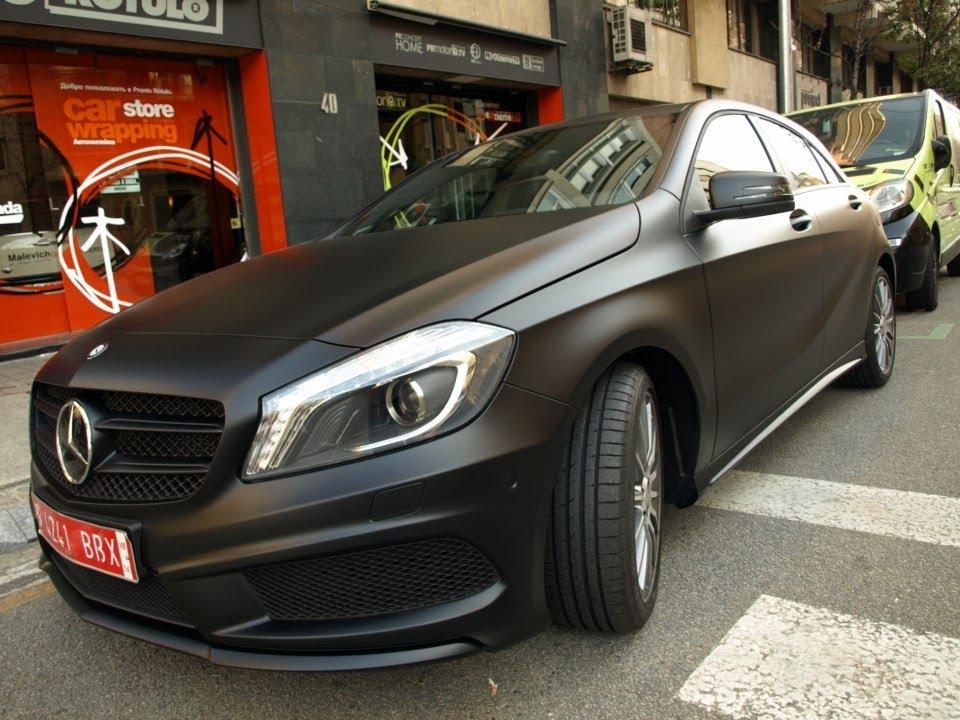 Mercedes Clase B Negro
