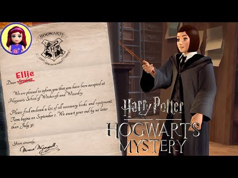 Harry Potter: Hogwarts Mystery App Game play Chapters 1 2 & 3 Kids Toys