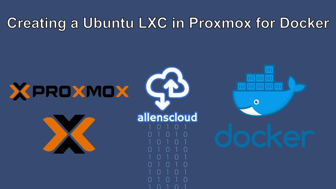 Creating a Ubuntu LXC in Proxmox for Docker