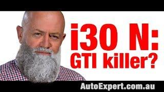 Hyundai i30 N Volkswagen Golf GTI killer Auto Expert John Cadogan Australia