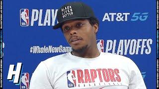 Kyle Lowry Postgame Interview - Game 7   Celtics vs Raptors   September 11, 2020 NBA Playoffs