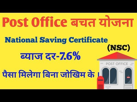 Post Office Saving Scheme। National Saving Certificate(NSC)। NSC Calculator ।